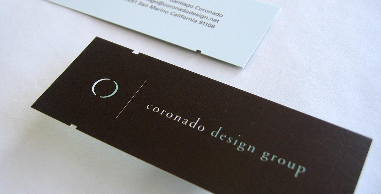 Coronado Design Group Logo and Brand Identity