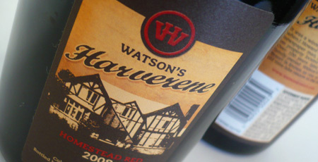Watsons Harverene Homestead Red Wine