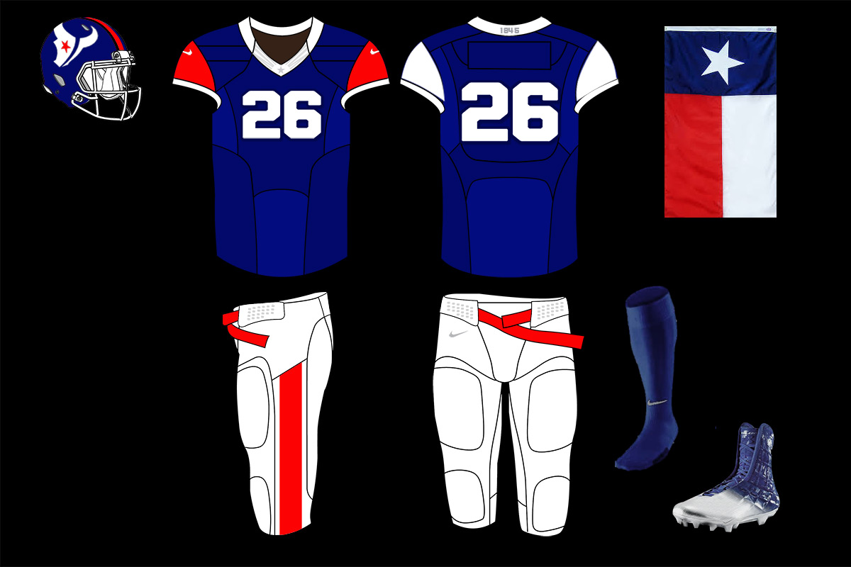 Houston Texans Texas Team Concepts Chris Creamer S